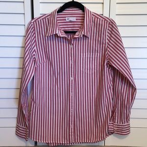Gap Fitted Boyfriend Shirt - Size M